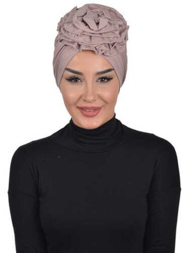 BO-21 Fertig Kopftuch Praktisch Hijab Bone Türban Esarp Sal Tesettür Khimar