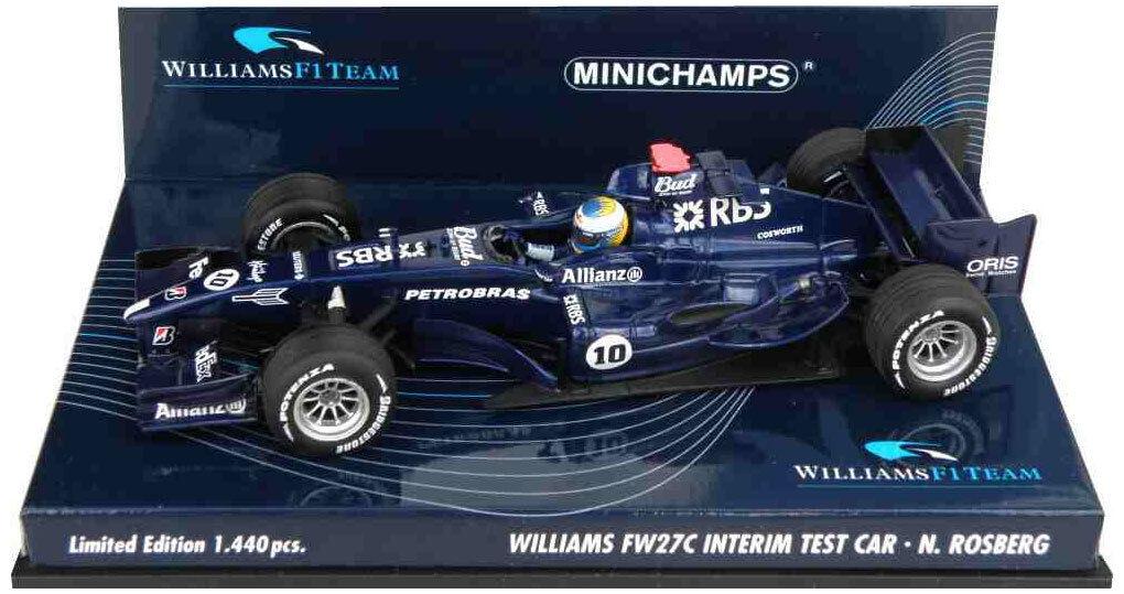 Minichamps Williams FW27C Interim Test 2005 2006 - Nico Rosberg 1 43 Scale