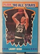 1990 FLEER ALL-STARS #2 of 12 LARRY BIRD CELTICS     WM11
