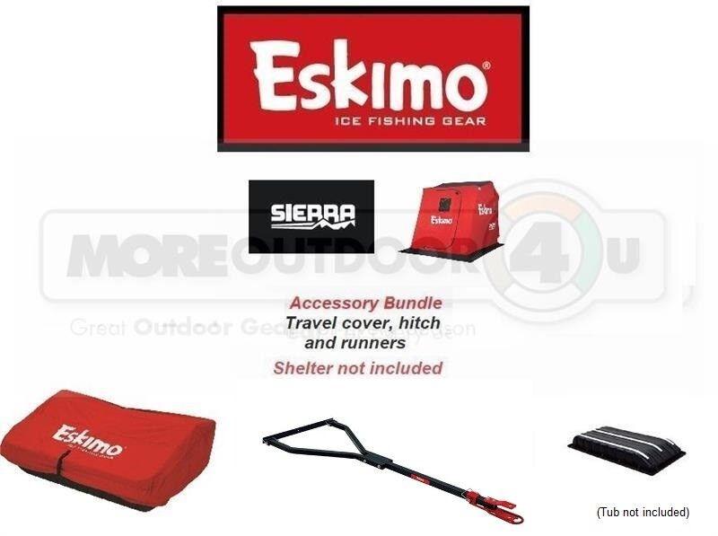 306031 Paquete de Accesorios Exclusivos Esquimal Sierra Enganche De Remolque Cubierta De Viaje corrojoores