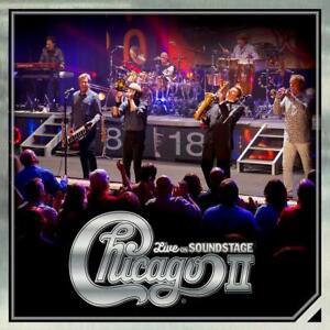 Chicago-Chicago-II-Live-on-sound-giorni-2018-19-track-CD-album-NUOVO-IMBALLATO