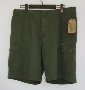 NWT-Woolrich-Amblewood-Mens-Size-38-Dark-Green-Classic-Fit-Outdoor-Cargo-Shorts