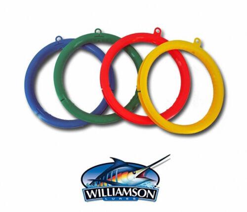 4 Williamson Wind on Fishing Line Spool Rig,Rigged Lure Lot Leader Spool