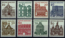 454-461 **  BRD 1964-65,  Deutsche Bauwerke (Kleinformat)