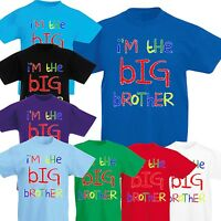I'm The BIG Brother Funny present Kids bargain gift Boys tee T-Shirt