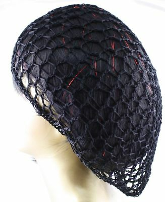 Lot of 6 Pcs Hair Net French Mesh Net Hairnet /& Snood One Size free shipping