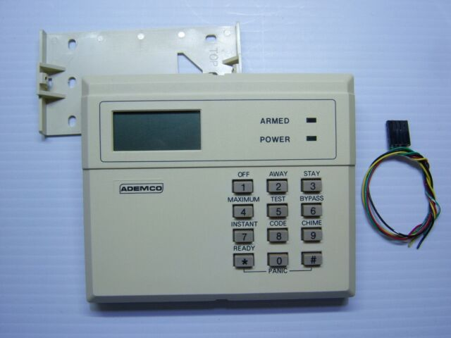 Ademco 4127 Fixed English Keypad W  Wire Harness  U0026quot Super