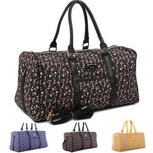 Image Is Loading Womens Large Duffle Bag Travel Overnight Carry On