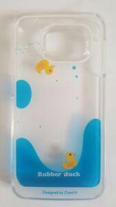Samsung-6-Edge-Blue-Liquid-And-2-Yellow-Duck-Novelty-Phone-Case