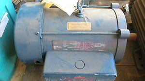 Ge 10 hp 3 phase electric motor used ebay for 10 hp 3 phase electric motor