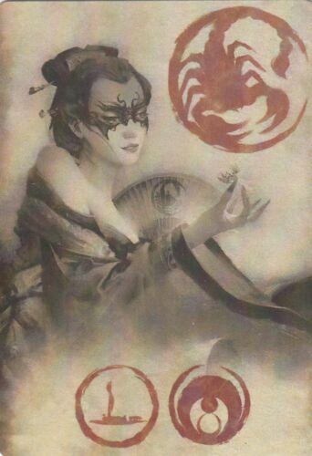 Legend Of The Five Rings L5R Alt Art Elemental Role Card Scorpion Clan