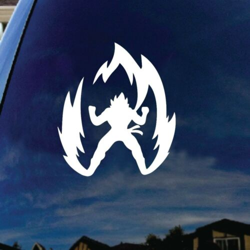 Super Saiyan Goku Cartoon Character Car Window Vinyl Decal Sticker 6inches Tall