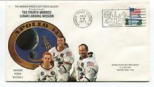 1971 The Fourth Manned Lunar Landing Mission Apollo 14 Shepard Space Cover