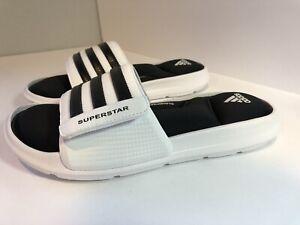 adidas superstar sandals white