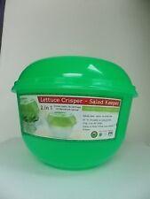 O.P.I.F-LETTUCE CRISPER-SALAD KEEPER-W SPIKES-QUALITY-BPA FREE-GREEN-118 OZ