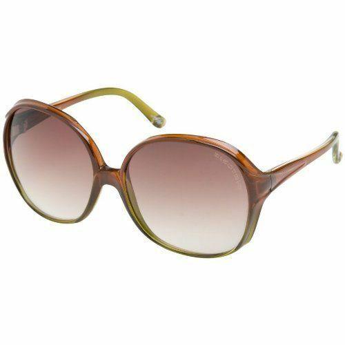 Electric Visual Bibidahl Crystal Green Brown / Brown Gradient Sunglasses