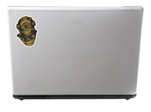 2 X Diving Bell de pegatinas de vinilo-Casco Buceo Scuba Diver Cool Laptop Regalo #10951