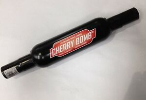 cherry bomb exhaust 3 small case cb3 2 reducer end. Black Bedroom Furniture Sets. Home Design Ideas