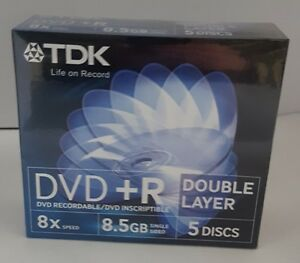 TDK-DVD-R-Double-Layer-5-Pack-in-Jewel-Cases