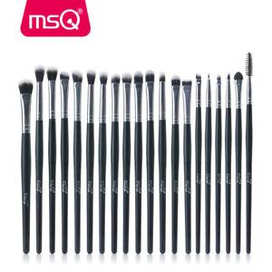20PCs Eye Makeup BRUSHES Set Kit Blusher Powder Eyeshadow Eyeliner Lip Brush MSQ