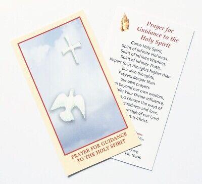 GUIDANCE FROM THE HOLY SPIRIT - PRAYER CARD | eBay