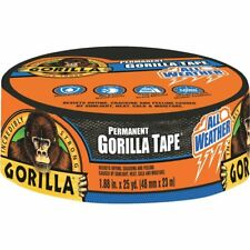 Gorilla All Weather Butyl Rubber Tape 188 In X 75 Ft Black