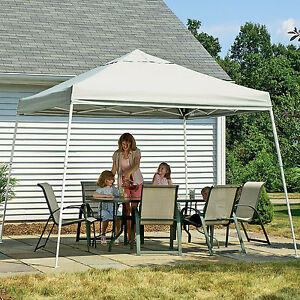 Image is loading Instant-Canopy-Tent-12x12-Outdoor-Pop-Up-Ez- & Instant Canopy Tent 12x12 Outdoor Pop Up Ez Gazebo Patio Beach Sun ...