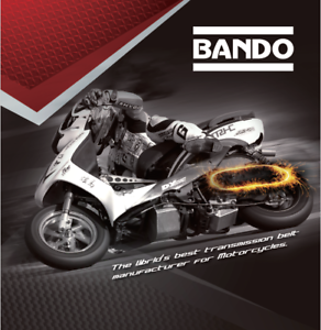 23100-KGF-9010 GENUINE BANDO SCOOTER DRIVE BELT  S05-019 Honda 125 Dylan