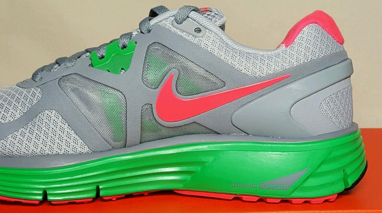 a52019337f0e8 Nike Lunarglide 3 Womens 454315 063 New box Grey green pink 12