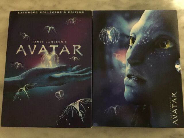 DVD'S AVATAR James Cameron Extended Collector's Edition Contiene 3 Dischi
