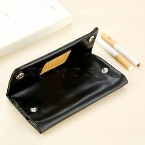 1pc PU Leather Tobacco Pouch Holder Wallet Bag Purse Container Storage 152x80mm 611056335314