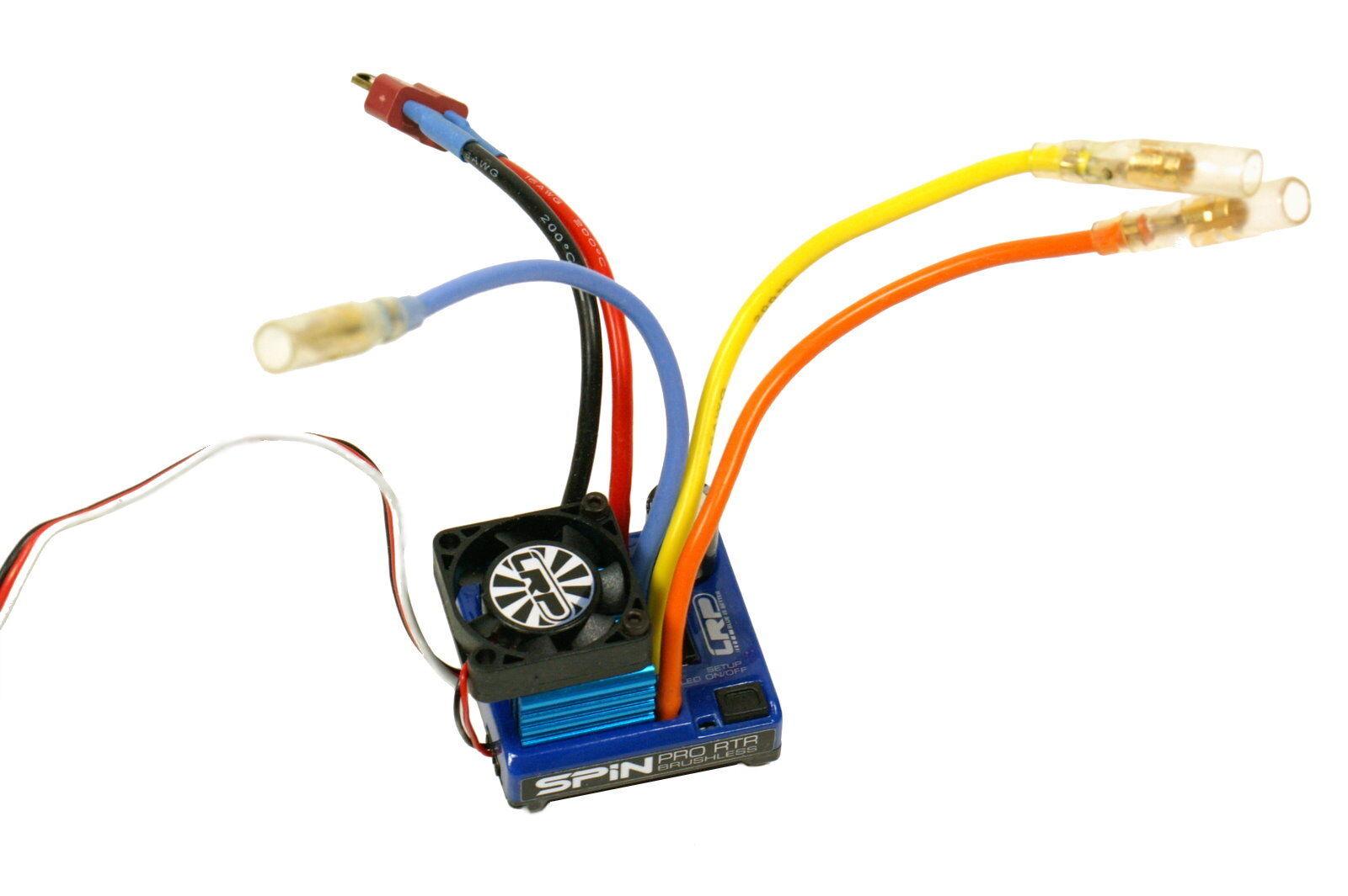 LRP spin pro brushless regulador ESC 80250 2-4s lipo ESC viaje regulador regulador de conducción nuevo