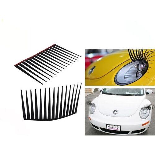 ruban adhésif Cils pour voiture autowimpern décoration pour les autolapme set 2 st
