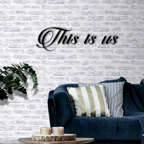 Family Photo Feature Wall Decor This is us Wall Hanging Sign Plaque