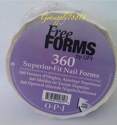 Ac929 Opi Nail Form Roll Of 360pcs