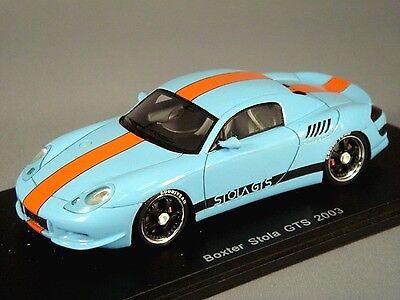 Spark 1  43 lådaer Stola GTS 2003 ljus blå från japan