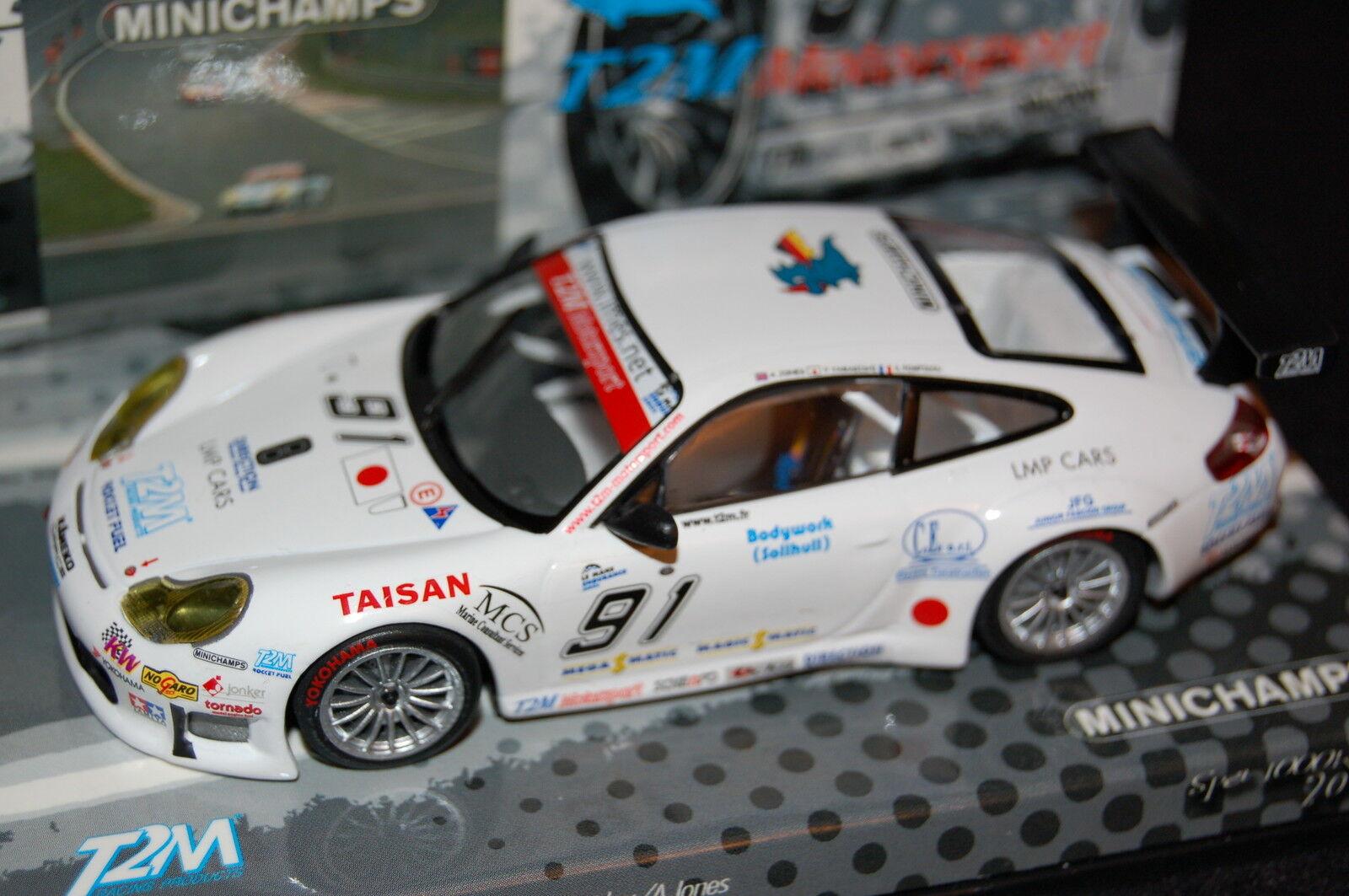 PORSCHE 911 GT3 CUP T2M SPA - MINICHAMPS 1 43 - 999 PCS 403056991