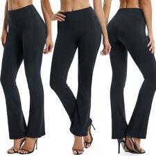 07c312f6dc item 1 USA Womens Flare Wide Leggings Yoga Pants Cotton Stretch Full Length  S-XL X142 -USA Womens Flare Wide Leggings Yoga Pants Cotton Stretch Full  Length ...