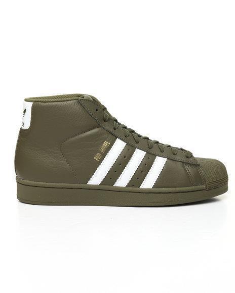 Adidas originals pro / model ac7067 oliven grün / pro weiß / gold fracht laufen aus 9186d5