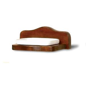 Paglialunga Ceramiche Prima Porta.Porta Sapone In Legno Stile Arte Povera Ceramica Cm 20x8x13