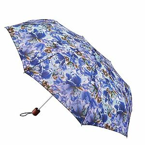 Image is loading Fulton-Minilite-2-Blue-Tulip-Umbrella