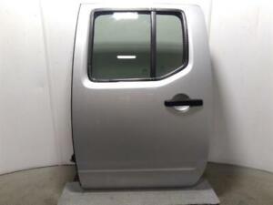 2011 Nissan Navara D40 2010-15 Silver KL0 N/S Passengers Rear Back Door LH