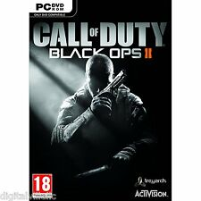 Call of Duty Black Ops 2 II PC with Zombies Brand New Factory Sealed COD
