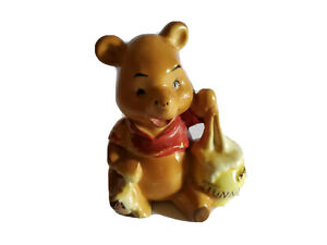 Walt Disney Productions Winnie The Pooh Hunny Honey Pot Figurine Vintage W4