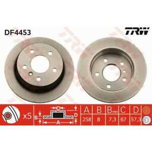 TRW-2x-Brake-Discs-Full-Painted-Black-DF4453