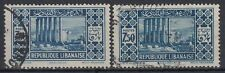 Liban Lebanon 1930 Mi.180 I+II fine used, 2 types Jupitertempel Baalbek [sq7775]