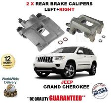 """FOR JEEP GRAND CHEROKEE 2010- NEW 2X REAR BRAKE CALIPERS LEFT + RIGHT 17"""" WHEELS"""