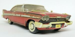 Autoworld-1-18-Scale-1958-EVIL-Plymouth-Fury-Christine-With-Lights-Model-Car