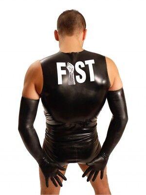 Kleidung & Accessoires Dynamisch Dicke Fisting Schulter-gummihandschuhe • Schwarz Latexhandschuh Fist Gay Modern Und Elegant In Mode