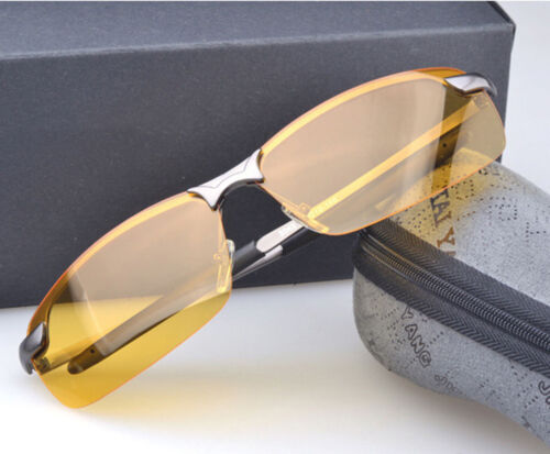 2017 Newly Sport Night Driving Glasses Anti Glare Vision Drive Safety Goggles
